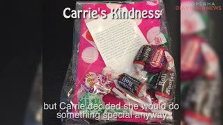 This Woman Is Spreading Kindness From 30,000 Feet! - Video