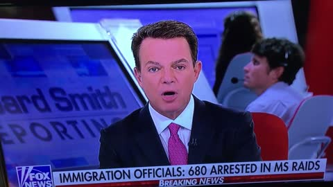 Shep Smith Distraught Over Illegals Arrested At Chicken Plant
