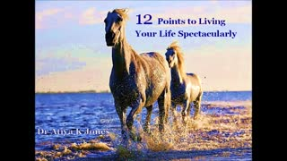 12 Points to Living Your Life Spectacularly - Video