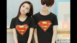 Justice League Superman White Colour Printed Cotton T Shirts - Video