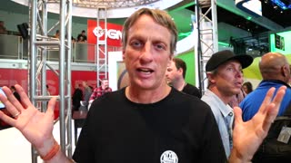 Tony Hawk shoutout to Bam Margera at E3 - Video