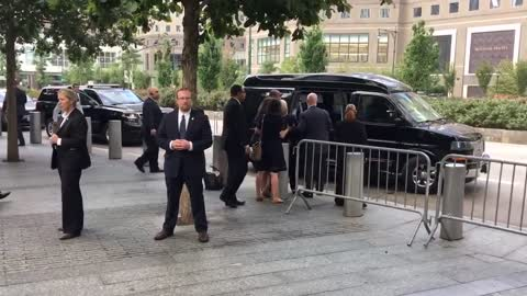 Hillary Clinton falls at 9/11 event