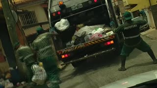 Dancing Garbage Men - Video
