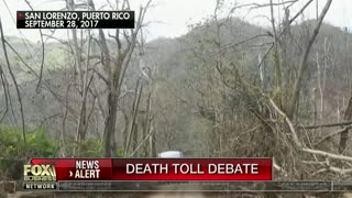 Lou Dobbs defendsTrump for his comments on Hurricane Maria death toll - Video