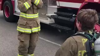 Surprise Firefighter Proposal - Video
