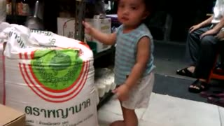 little cute boy dancing :) - Video
