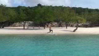 The best skimboard trick ever!