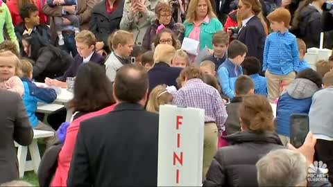 WATCH: Trump Goes Into Grandpa-Mode, Plays With Kids at White House Easter Egg Roll