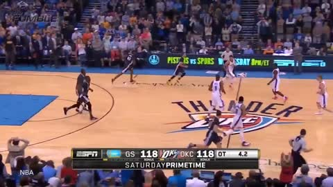 Russell Westbrook Tries to Be Stephen Curry, Fails Hard