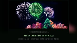 Wishing you all a merry merry Christmas