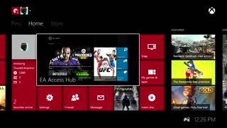 EA Access HUB review for Xbox One - Video