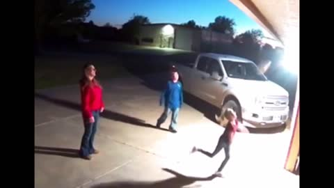 Little girl gets more than she bargained for