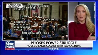 Nancy Pelosi clashes with radical Dems