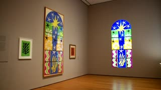 New MoMA exhibit cut out for Matisse - Video