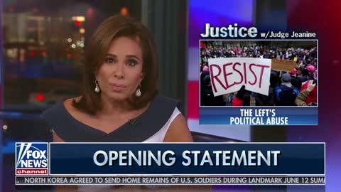 Judge Jeanine Blames Harassment Of Trump Officials On Left's Inability To Accept Election Results