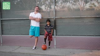 NFL Football Player Will Svitek Mentors 8-Year-Old Dealing With Parent's Cancer - Video