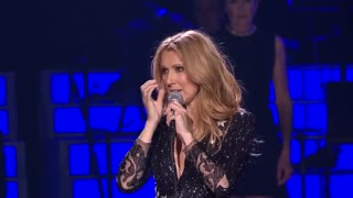 Celine Dion's first performance after losing her husband