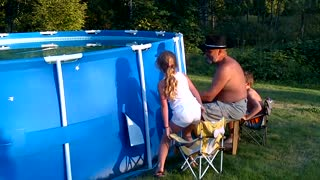 11 Best And Worst Ways To Pop Your Above Ground Pool - Video