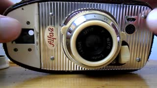 Classic compact camera from Poland - Video