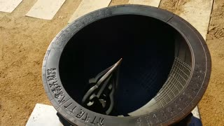 Traditional Korean sundial clock - Video