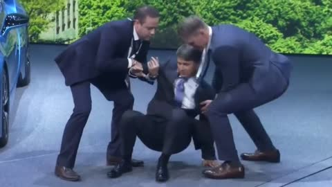 New BMW chief executive faints on stage at Frankfurt auto show