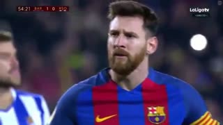 Messi Insane goal vs Sociedad - Video