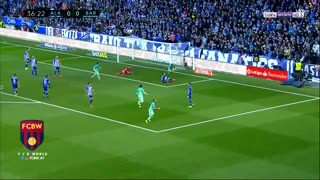 Gol de Suarez vs Alaves - Video