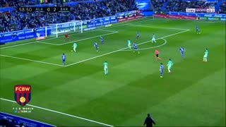 Gol de Leo Messi vs Alaves - Video