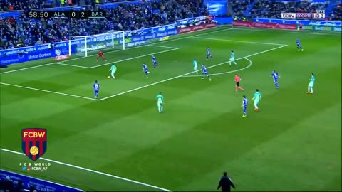 Gol de Leo Messi vs Alaves
