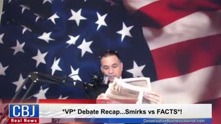 VP Debate Recap...Smirks vs FACTS!