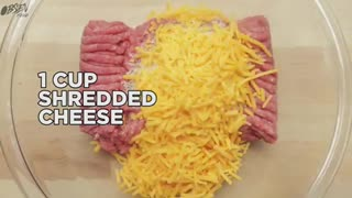 How To Make Mac & Cheese Stuffed Meatballs - Video