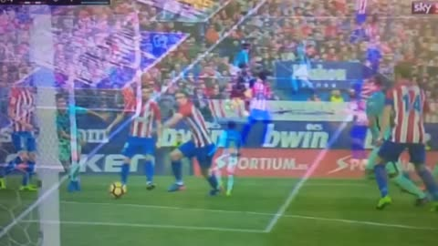 Gol de Rafinha vs Atletico Madrid