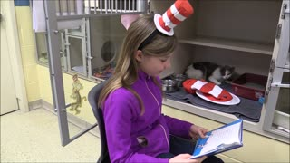 Kind Kids At The Humane Society Of Missouri Celebrate Read Across America