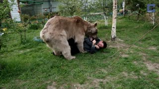 Incredible Family That Lives With A Bear - Video