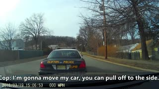 [USA] Clifton Cop Brake Checks Motorist - Video