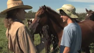 Horse Therapy Helps Students With Asperger's - Video