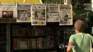 Greeks fear future, after PM resigns - Video