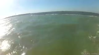 Salt water meets fresh water - Video