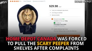 Halloween Decoration TOO SCARY For Canada! - Video