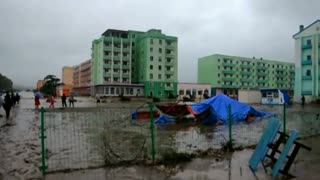 Flooding in North Korea kills 40, strands thousands - Video