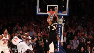Greek Freak Giannis Antetokounmpo's Game Winning Buzzer-Beater BREAKS the Knicks' Hearts - Video