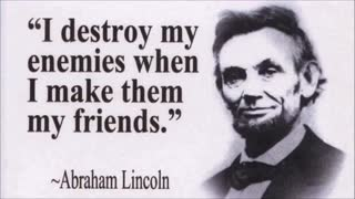 ABRAHAM LINCOLN FAMOUS QUOTES - Video