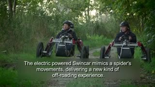 Electric Swincar transforms off roading experience - Video