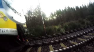 Jumping Before a Train - Video