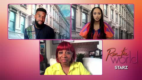 Bresha Webb and Jay Walker talk about Starz series 'Run the World'
