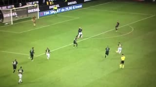 Candreva wonder goal vs AC Milan - Video