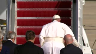 Pope departs Washington, next stop NYC - Video