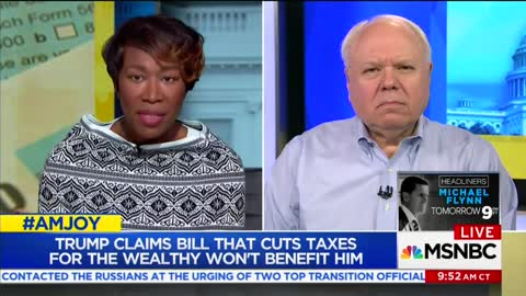 MSNBC Guest Says the GOP Tax Bill Treats the Poor So Badly That It's 'Akin to Rape'
