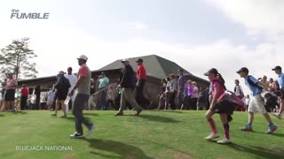 11-Year-Old's Shot Stuns Tiger Woods - Video