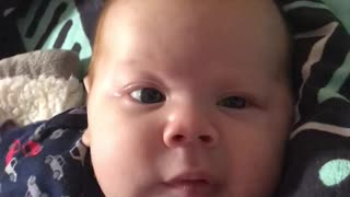 Baby saying I love you ❤️ - Video